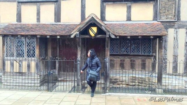La casa de Shakespeare en Stratford on Avon