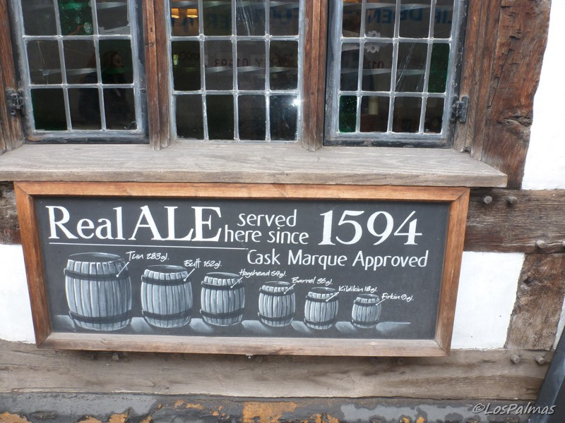 Real Ale en The Garrick Inn
