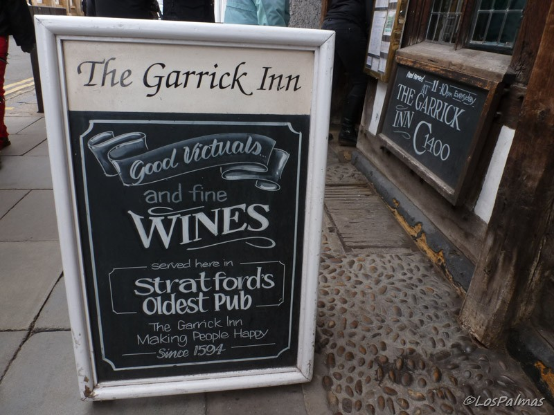 Since 1594 The Garrick Inn