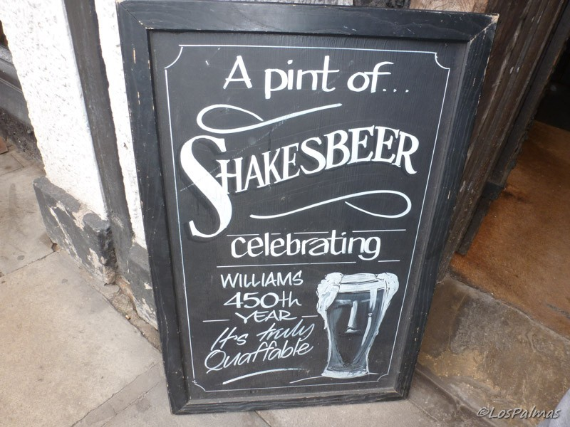 Shakespeare en The Garrick Inn